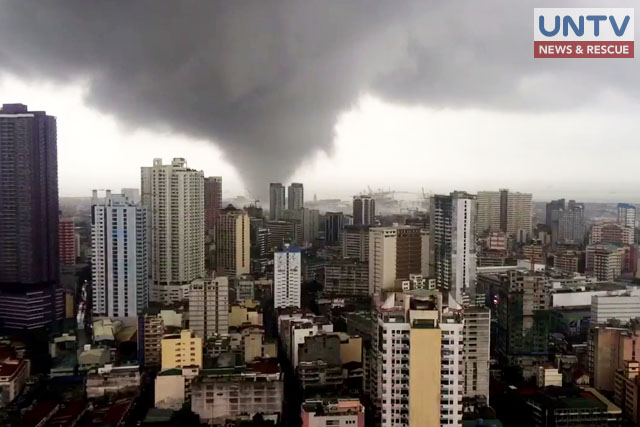 PAGASA explains occurrence of tornado in Manila