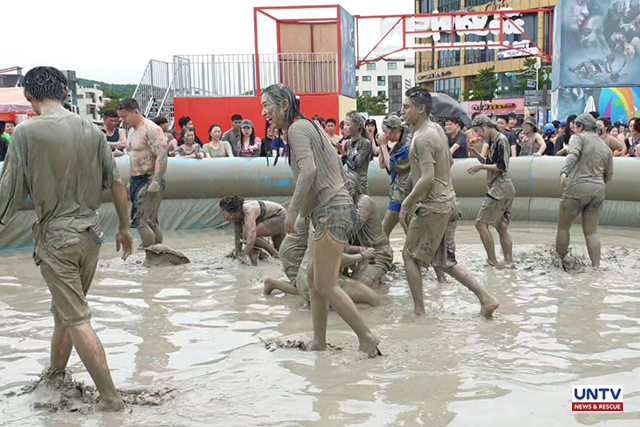 South Korea gets wild and dirty in annual Boryeong Mud Festival
